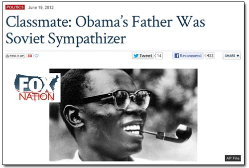 Fox Nation - Obama's Soviet Father