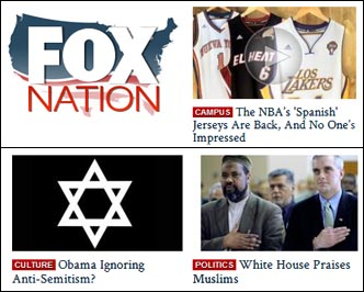 Fox Nation Race Baiting