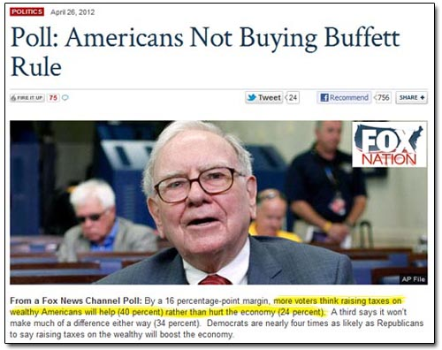 Fox Nation Buffett Rule