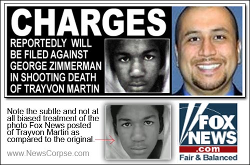 Fox News - Trayvon Martin - George Zimmerman