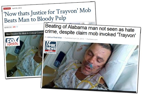 Fox News Trayvon Mob