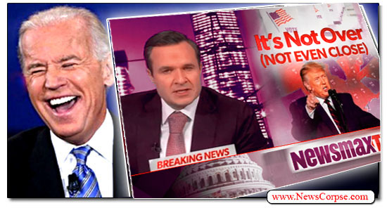 Joe Biden, Newsmax