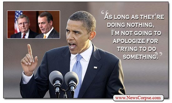 Obama and Do-Nothing Congress