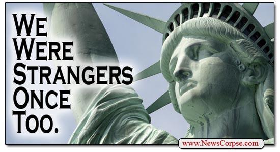 Obama: We Were Once Strangers Too
