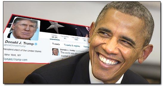 Obama Trump Tweet