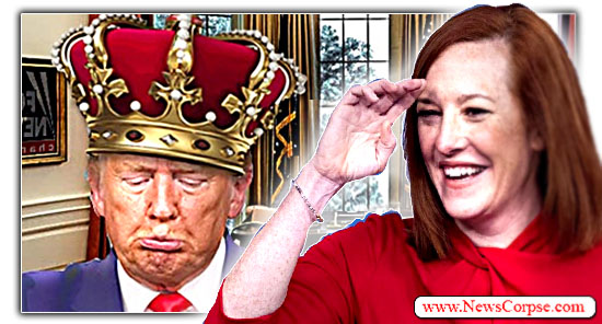 Jen Psaki, Donald Trump