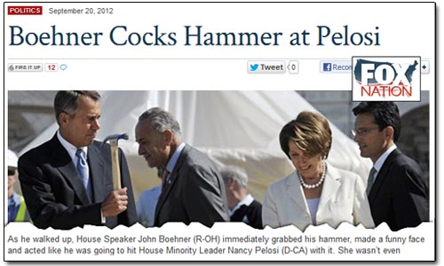 Fox Nation - Boehner Hammers Pelosi