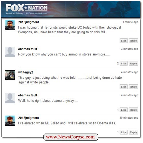 Fox Nation DHS Comments