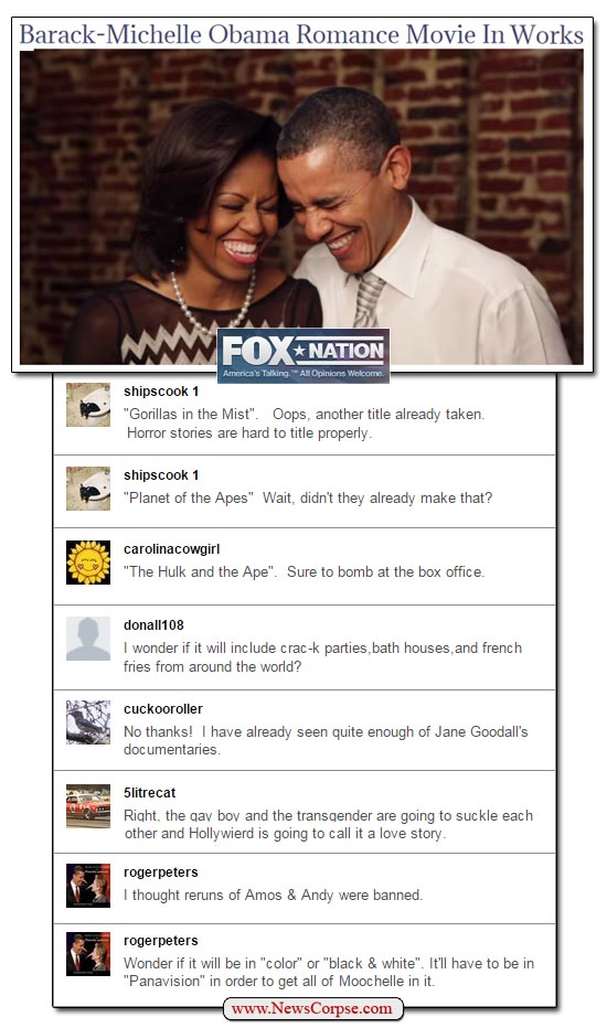 Fox Nation Racist Comments