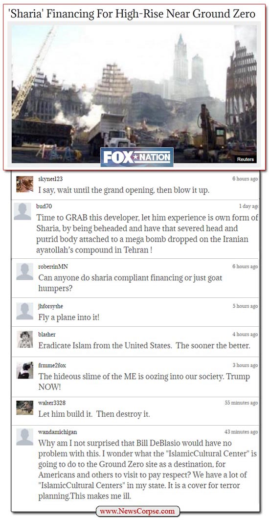 Fox News Comments