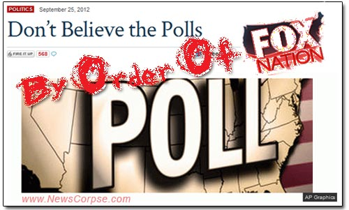Fox Nation Don't Believe Polls