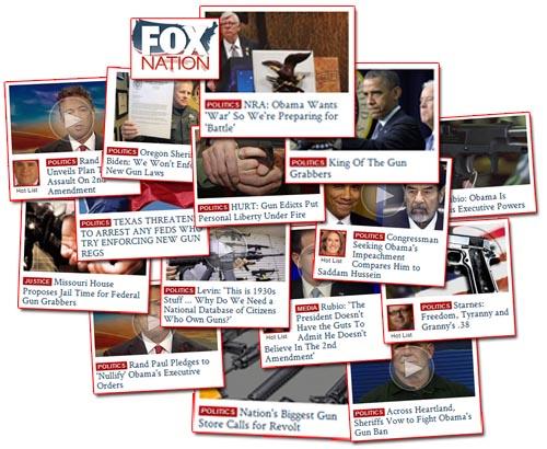 Fox Nation Gun War