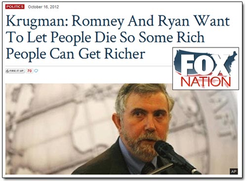 Fox Nation - Krugman