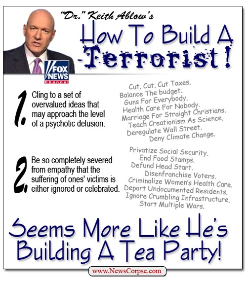 Keith Ablow's Terrorist Tea Party