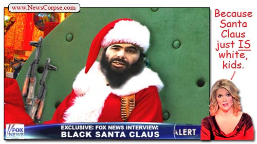Fox News - Black Santa Claus