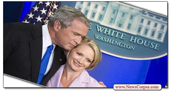 George Bush Dana Perino