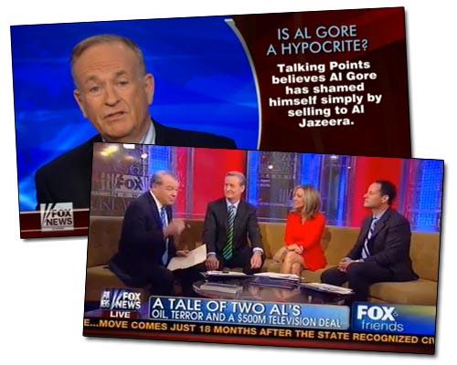 Fox News - Al-Jazeera