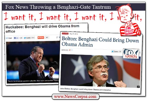 Fox News Benghazi Tantrum