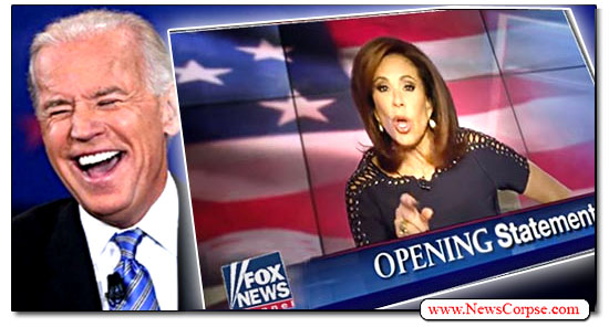 Fox News, Joe Biden, Jeanine Pirro