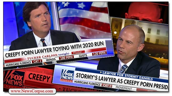 Fox News, Tucker Carlson, Michael Avenatti