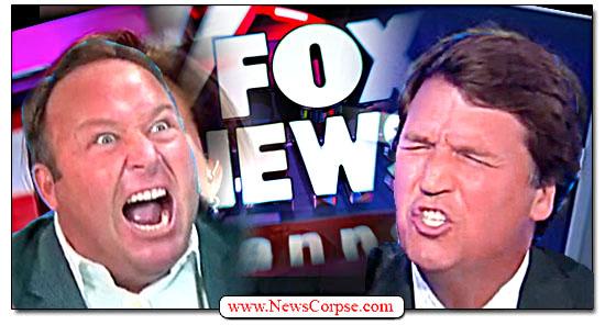 Fox News, Tucker Carlson, Alex Jones