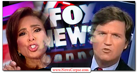 Fox News, Tucker Carlson, Jeanine Pirro