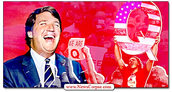 Fox News, Tucker Carlson, QAnon