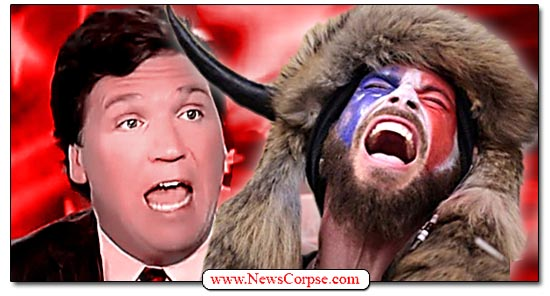 Fox News, Tucker Carlson, Q Shaman