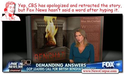 Fox News CBS Benghazi