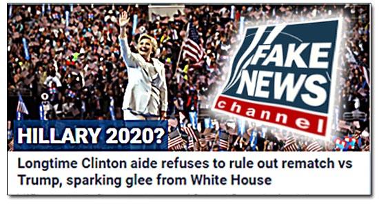 Fox News, Hillary Clinton