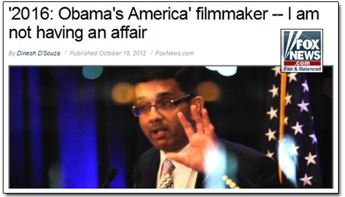 Fox News D'Souza Affair