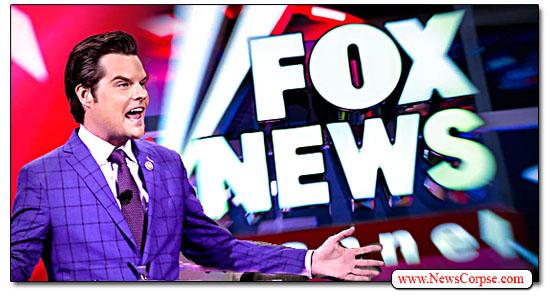 Fox News, Matt Gaetz