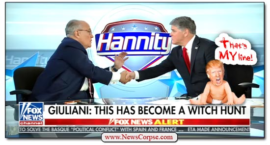Fox News, Sean Hannity, Rudy Giuliani