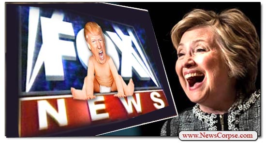 Fox News, Hillary Clinton