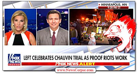 Fox News, Laura Ingraham, Ron DeSantis