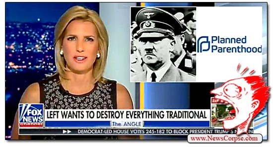 Fox News, Laura Ingraham, Planned Parenthood