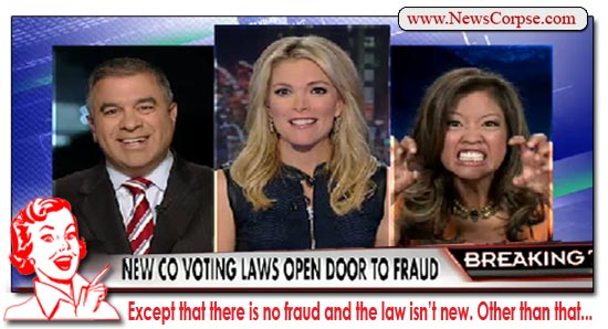 Fox News Voter Fraud