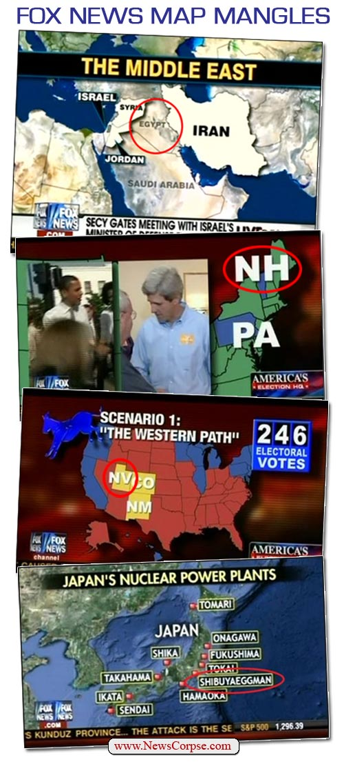 Fox News Map Mangles