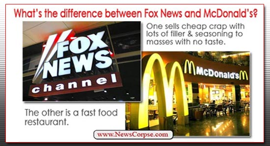 Fox News McDonalds