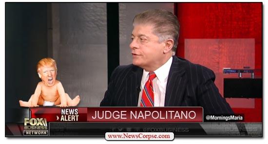 Fox News Judge Napolitano