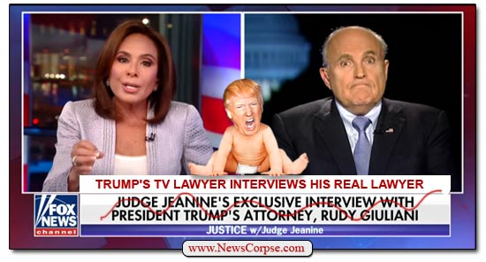Fox News, Rudy Giuliani, Jeanine Pirro