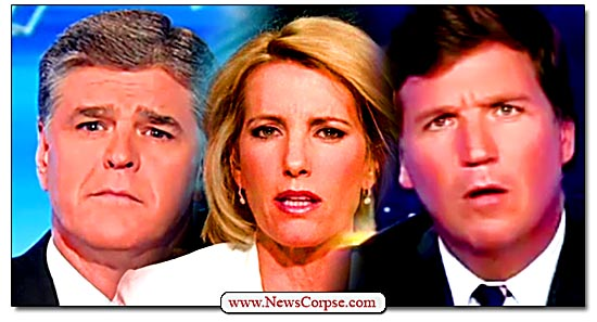 Fox News, Sean Hannity, Laura Ingraham, Tucker Carlson