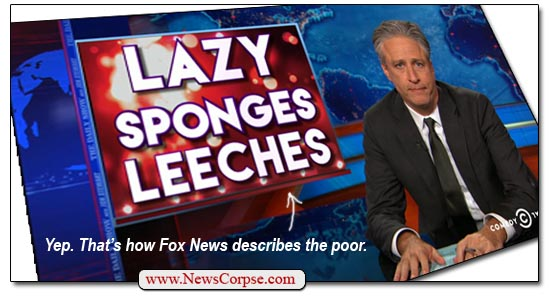 Fox News Jon Stewart