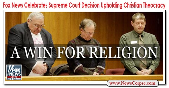 Fox News Theocracy
