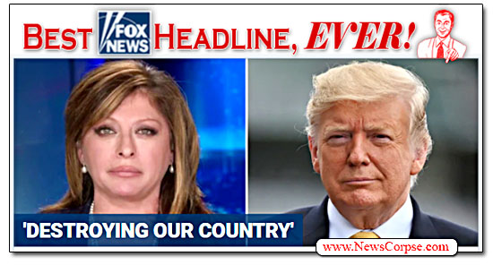 Fox News, Donald Trump, Maria Bartiromo