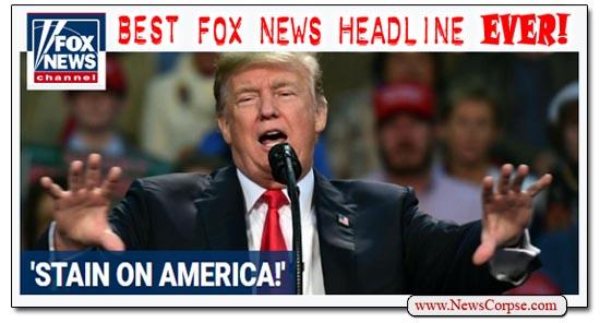 Fox News Donald Trump Stain