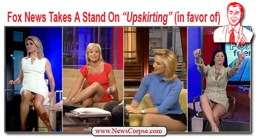 Model Have You Noticed How Often Those Short Skirts And Dresses On The Female Fox News Hosts Hike Up? Do You Think Its Just A Coincidence How Often That Happens? If Youre Wearing A Short Dress Or A Short Skirt And  Tells These Women To Wear