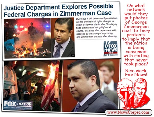 Fox News Zimmerman Riots