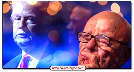 Rupert Murdoch Donald Trump