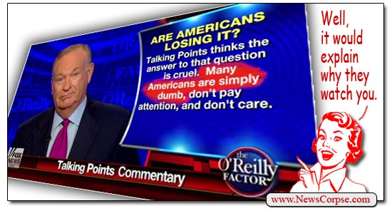 Fox News Bill O'Reilly